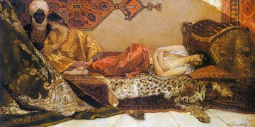 Arab Painting - The Odalisque Jean Joseph Benjamin Constant Araber