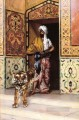 The Pashas Favourite Tiger Arabian painter Rudolf Ernst