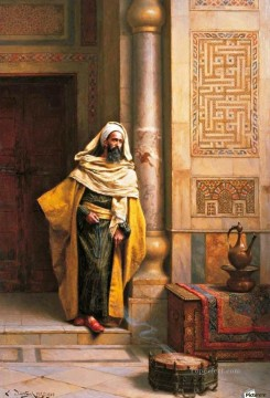 Arab Painting - The philosopher Ludwig Deutsch Orientalism Araber