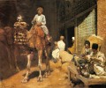 A Marketplace In Ispahan Arabian Edwin Lord Weeks