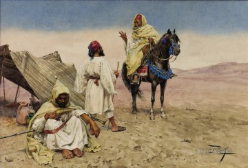 Giulio Rosati arab Oil Paintings