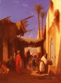 Street In Damascus Part 1 Arabian Orientalist Charles Theodore Frere