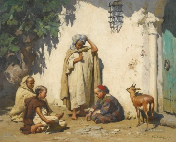 Arab Painting - THE YOUNG SCRIBE Frederick Arthur Bridgman Arab