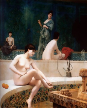The Harem Bath Arab Jean Leon Gerome Oil Paintings