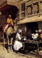 The Metalsmiths Shop Arabian Edwin Lord Weeks