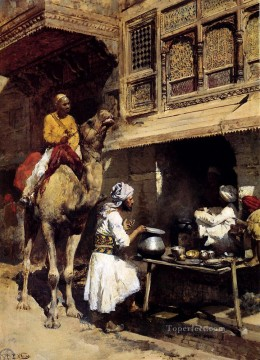 Arab Painting - The Metalsmiths Shop Arabian Edwin Lord Weeks