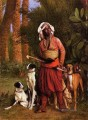 The Negro Master of the Hounds Arab Jean Leon Gerome