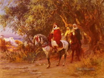 Return Art - The Return Arabic Frederick Arthur Bridgman