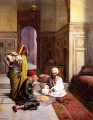 The fortune teller Ludwig Deutsch Orientalism Araber