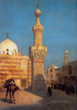 View of Cairo undated Arab Jean Leon Gerome Oil Paintings
