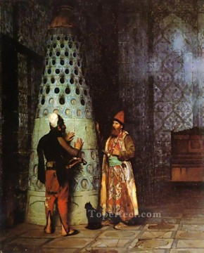 Waiting for an Audience Arab Jean Leon Gerome Oil Paintings