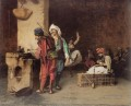 A Cafe in Cairo Arab Jean Leon Gerome