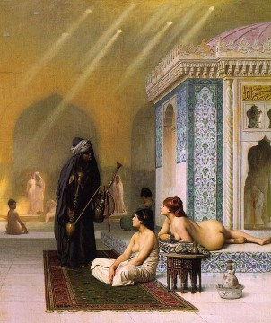 Harem Pool Arab Jean Leon Gerome Oil Paintings