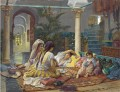 IN THE HAREM Frederick Arthur Bridgman Arab