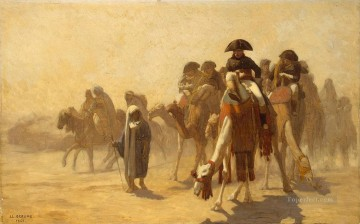 Napolean and his General Staff in Egypt Arab Jean Leon Gerome Oil Paintings
