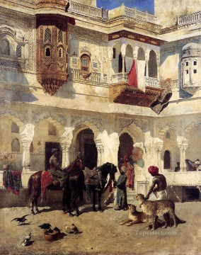 Rajah Starting On A Hat Arabian Edwin Lord Weeks Oil Paintings