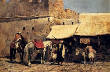 Arab Painting - Tangiers Arabian Edwin Lord Weeks