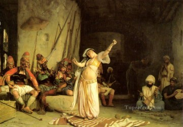 The Dance of the Almeh Arab Jean Leon Gerome Oil Paintings
