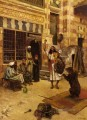 An Afternoon Show Arabian painter Rudolf Ernst
