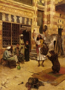Artworks in 150 Subjects Painting - An Afternoon Show Arabian painter Rudolf Ernst