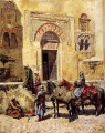 Entering The Mosque Arabian Edwin Lord Weeks