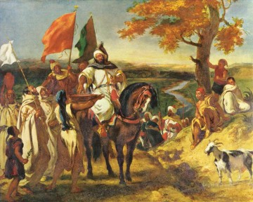Artworks in 150 Subjects Painting - Eugene Ferdinand Victor Delacroix Arabs