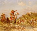 Georges Washington Arab Warriors on Horseback