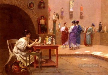 Artworks in 150 Subjects Painting - Sculpture Vitam Insufflat Pittura Arab Jean Leon Gerome