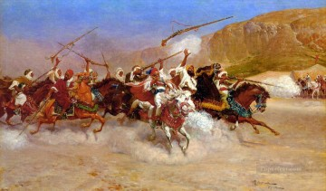 The Gallop Arabs Oil Paintings