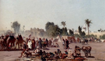 The Traders Arabian Alberto Pasini Oil Paintings