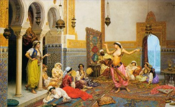Arab Canvas - Arabic dancer nude