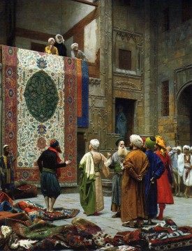 The Carpet Merchant Arab Jean Leon Gerome Oil Paintings