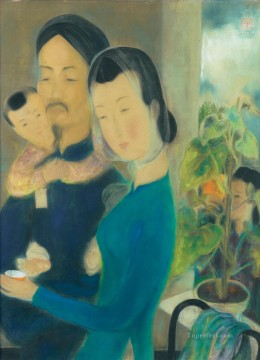 Asian Painting - Family Asian