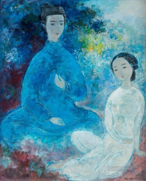 Asian Painting - VCD Couple Asian