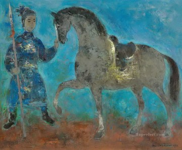 Asian Painting - VCD Le Cavalier The Horserider Asian