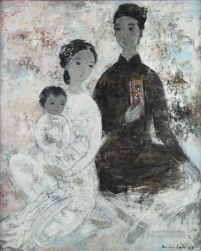 Asian Painting - VCD The Family Asian