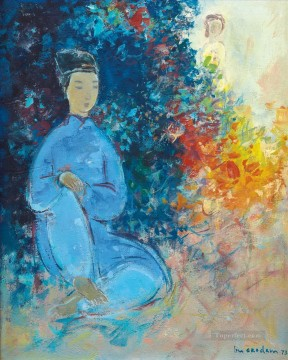 Asian Painting - VCD Waiting Asian