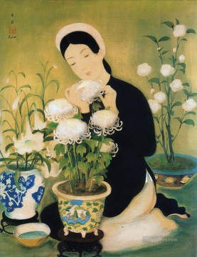 Asian Painting - Chrysanthemum Asian