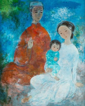 Asian Painting - VCD The Family 2 Asian