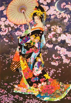 Asian Painting - Japanese cherry blossom Asian