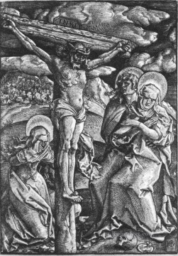 renaissance Painting - Crucifixion Renaissance painter Hans Baldung black and white