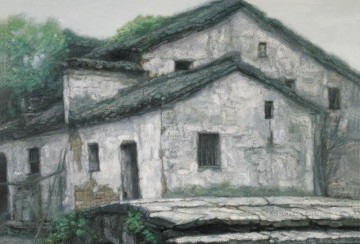 Chinese Painting - Hometown Chinese Chen Yifei