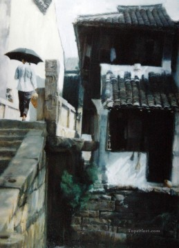 February Chinese Chen Yifei Oil Paintings