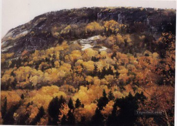 Chen Yifei Painting - Hudson River Valley 1984 Chinese Chen Yifei
