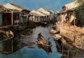 Dip Oars of Hometown Chinese Chen Yifei