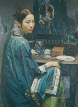 Focus Chinese Chen Yifei Oil Paintings