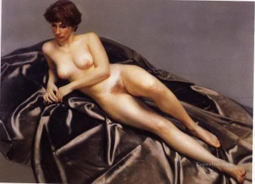 Lying Nude Chinese Chen Yifei Oil Paintings