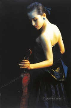 Chen Yifei Painting - Night of Opening 1989 Chinese Chen Yifei