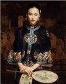 Waiting Chinese Chen Yifei
