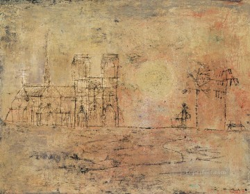 Chinese Painting - Notre Dame ZWJ China Abstract